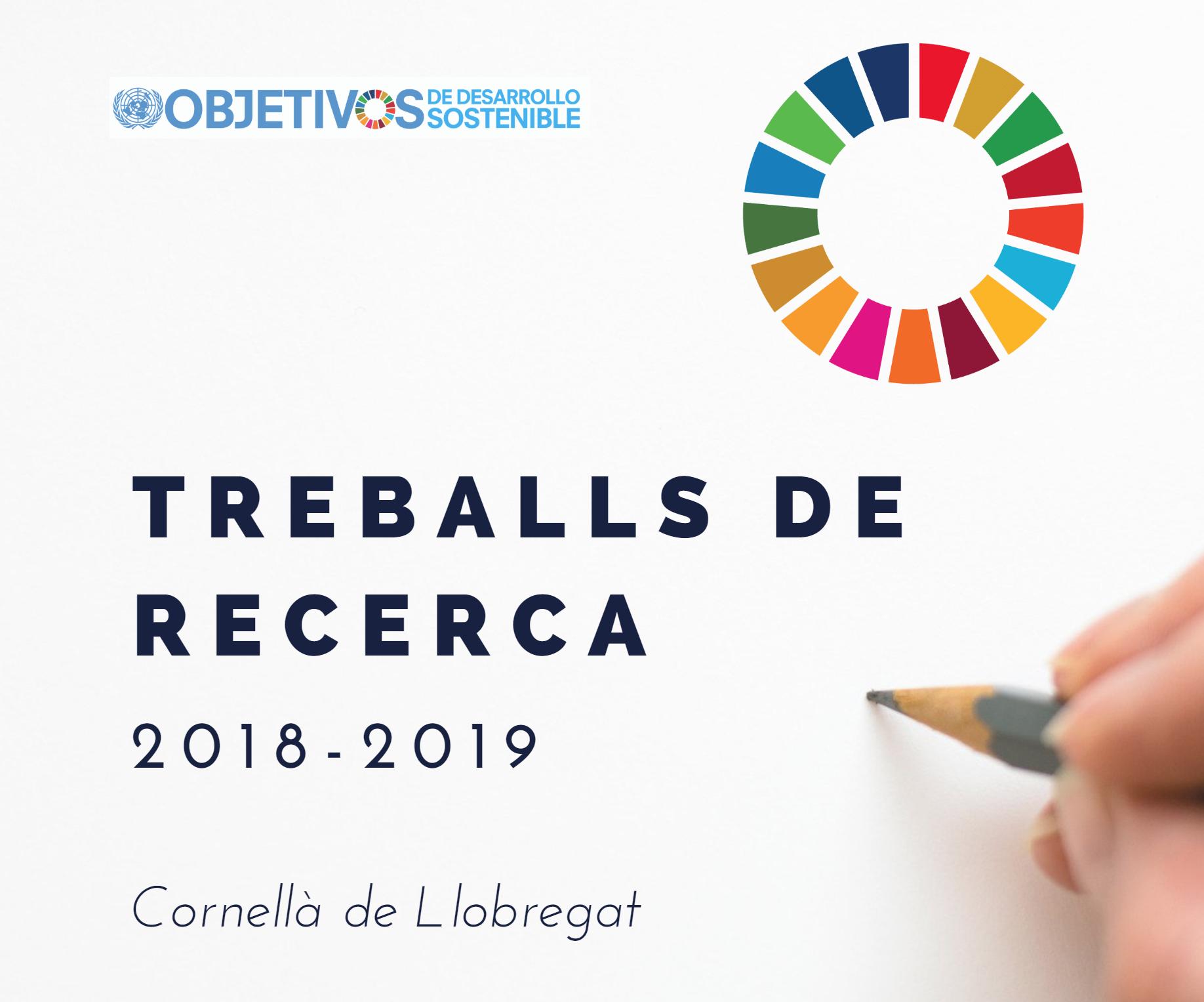 Treballs Recerca Cornellà 2018-2019